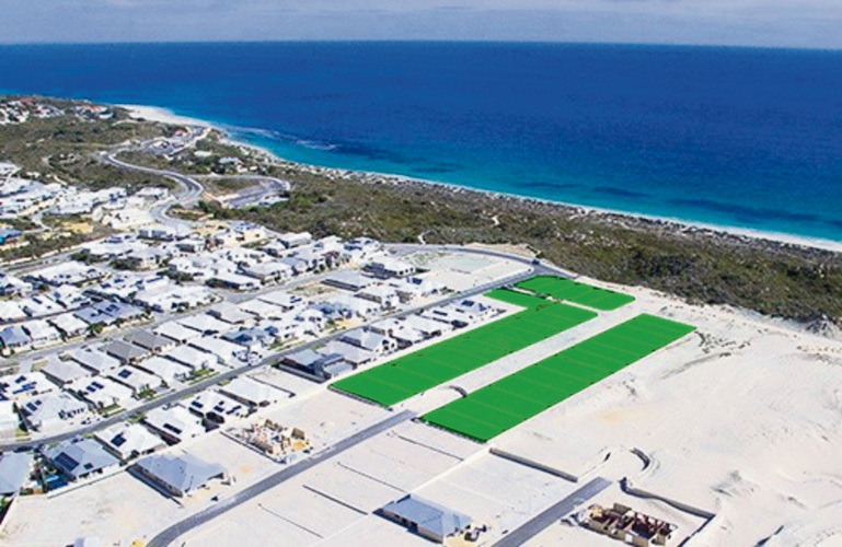 New beachfront land for sale at Capricorn Beach Estate in Yanchep