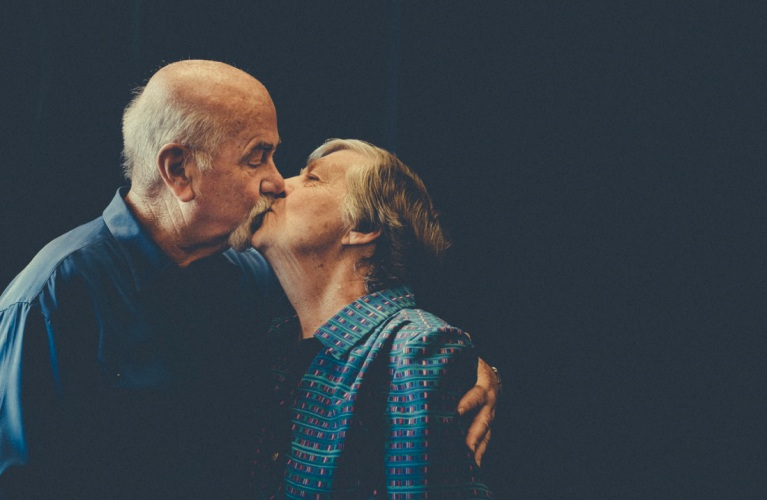 Images like this one of David and Lennyce Westaway will feature at LoveFest Perth to raise awareness of dementia. Picture: www.thesocialphotographer.com.au