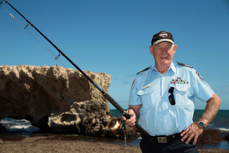 Two Rocks Volunteer Marine Rescue group commander Bill White. Picture: Martin Kennealey d481526