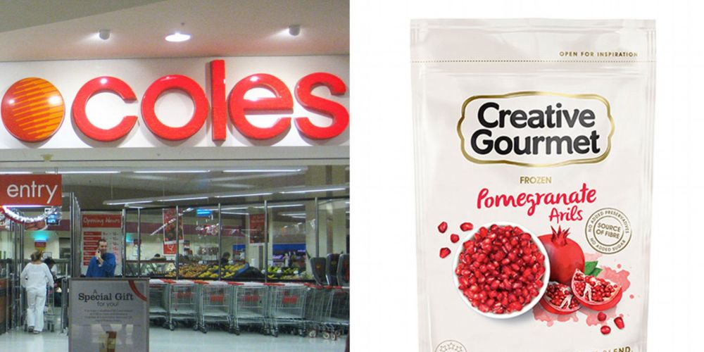 The Creative Gourmet frozen pomegranate aril product has been recalled after a hepatitis A outbreak.