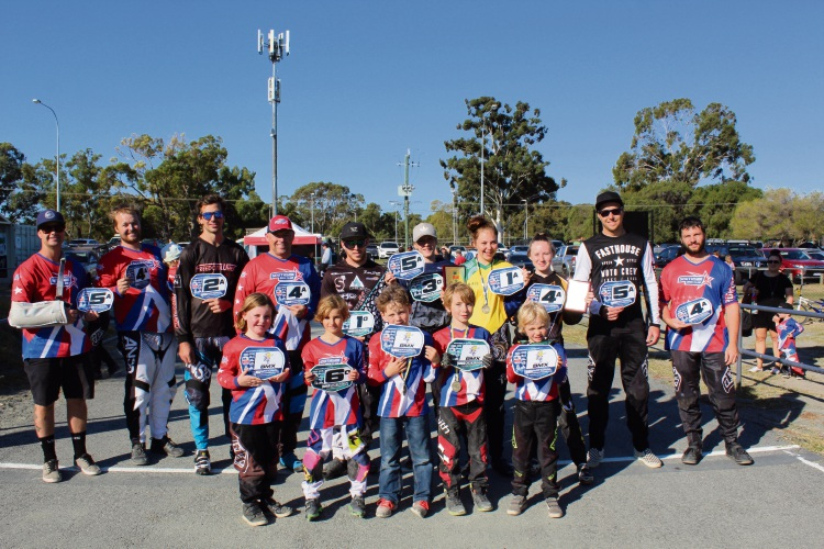 Southside BMX Club riders earned 16 Australia plates during the recent National Championships in Bunbury.