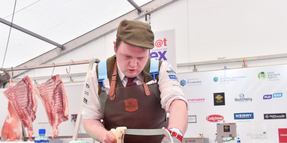 Keith Walsh will be competing for a prestigious butchery award.