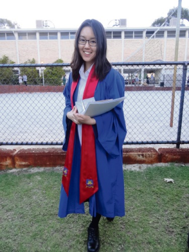 Curtin University medical student Cleo Wee credits Kumon for developing her work ethic.