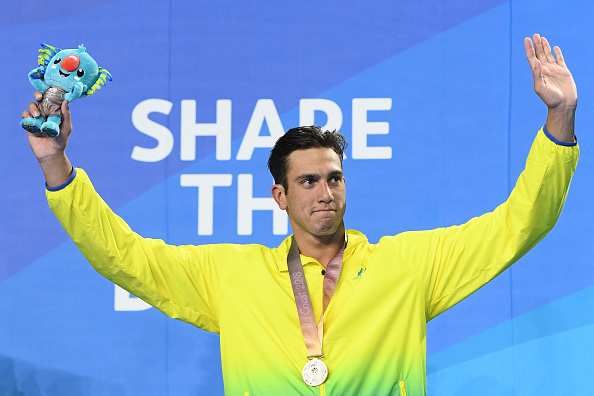 Zac Incerti won bronze at the Commonwealth Games.