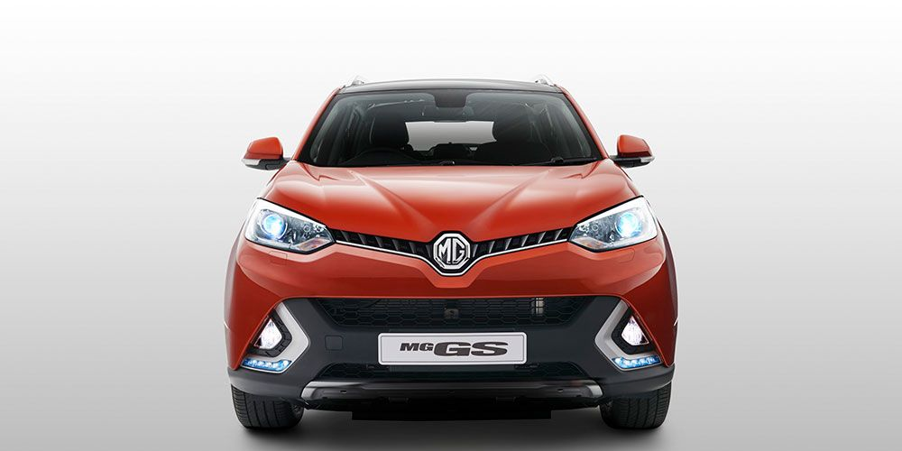 The MG GS medium SUV.