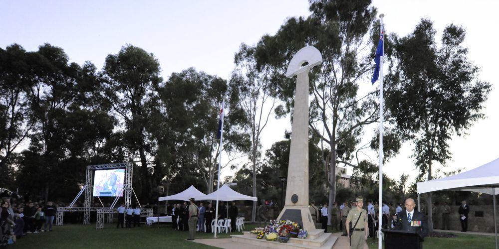 City of Joondalup and Joondalup City RSL will host an Anzac Day dawn service at Joondalup War Memorial.
