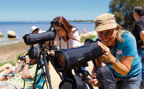 Mandurah Cruises tour guide Robyn Bickell.