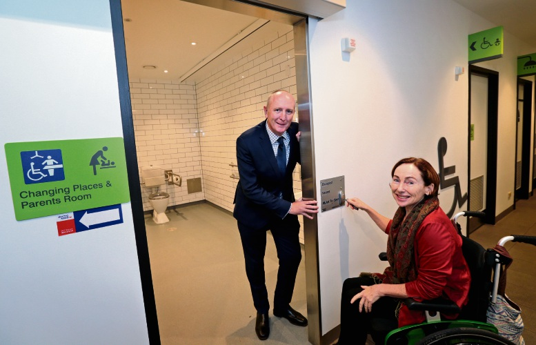 Changing Places master key to make life easier for Parkerville woman