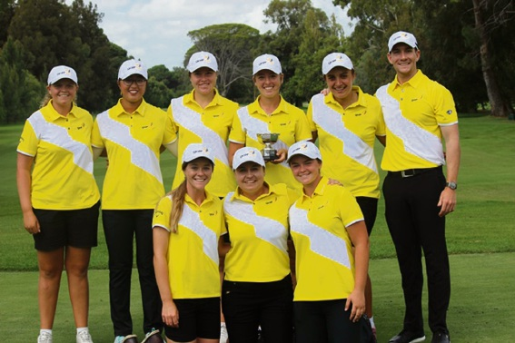 WA are the Australian Girls' Interstate Golf Champions again.