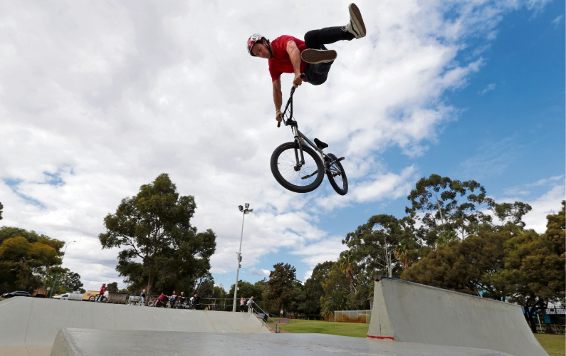 Todd Meyn will have plenty of airtime during the Youth Week event. Picture: Martin Kennealey d481958
