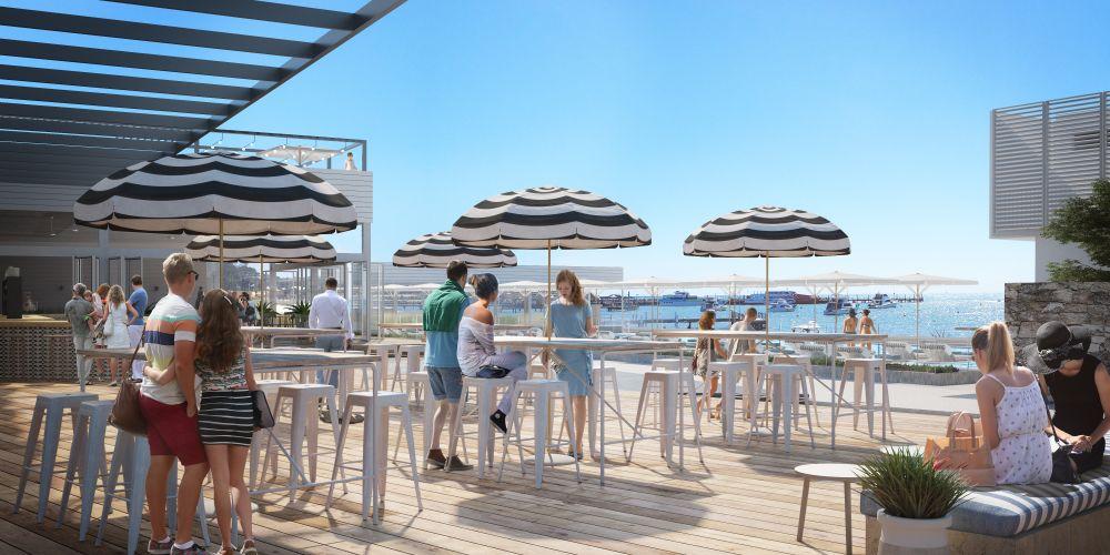 Christou Design Group's Hotel Rottnest plans.