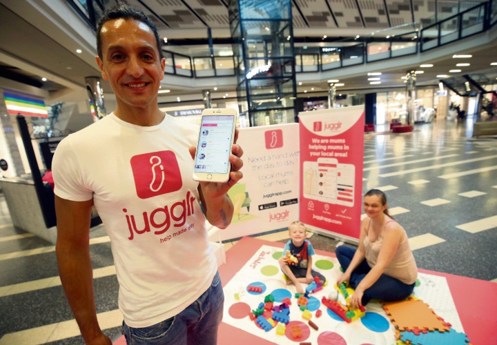 Jugglr App owner Elio Adragna. Photo: Matt Jelonek