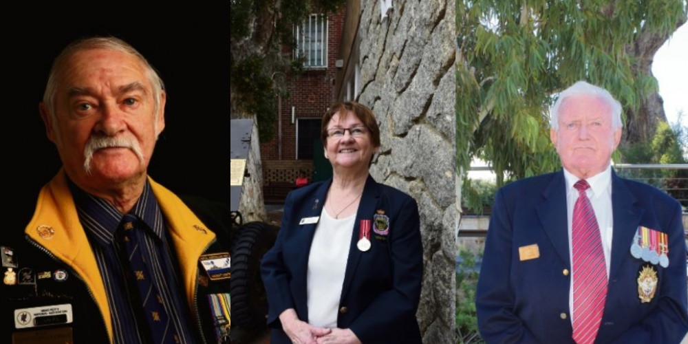 Bill Jones, Bonnie Atkinson, Ray Whitby are some of the servicemen and women Community News spoke to ahead of Anzac Day.