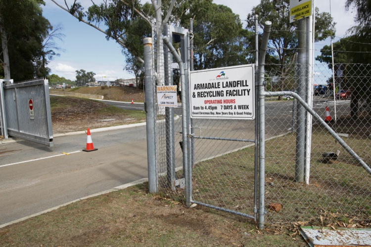 Armadale Landfill and Recycling Facility. Picture: Bruce Hunt d482128