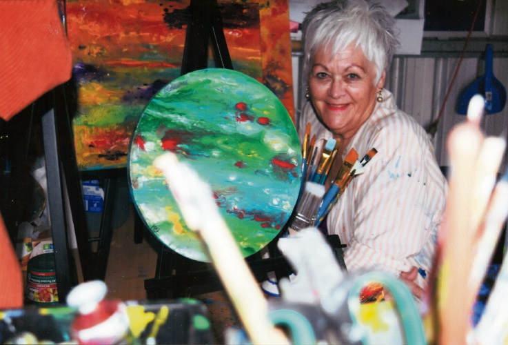 Author and artist Kez Wickham St George. Picture: Supplied