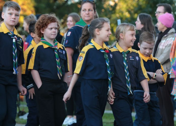 Wanneroo RSL Anzac Day march. Picture: Martin Kennealey d482058