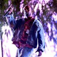Kendrick Lamar performs as a special guest on the Coachella. Picture: Scott Dudelson/Getty Images for Coachella