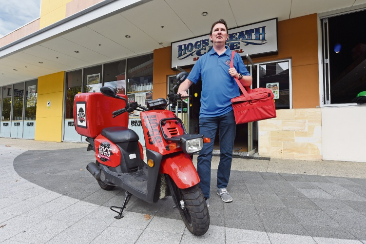 Hogs Breath franchise owner Glenn Sell. Picture: Jon Hewson www.communitypix.com.au   d482076