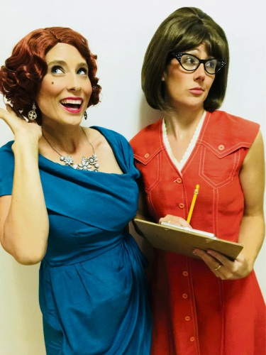 Loria Anders as Hedy La Rue with Sian Dhu as Smitty.