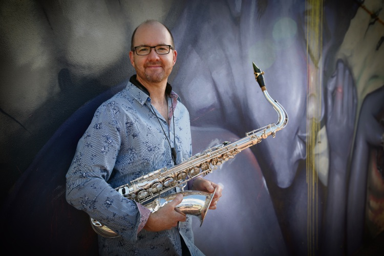 Saxophonist Matthew Styles. Picture: Andrew Ritchie d481858