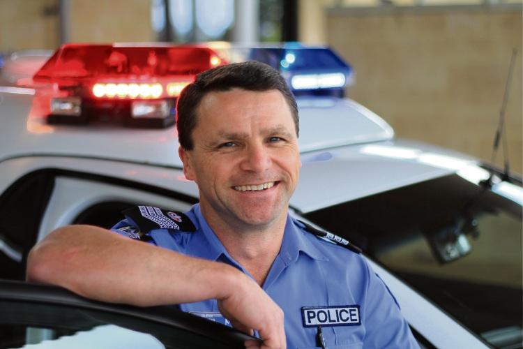Senior Sergeant Glenn Spencer.
