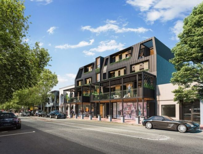 Artist impression of The Rokeby, a $4 million development designed by Matthews and Scavalli Architects at 368 Rokeby Road that has just been approved by Metro West JDAP. Picture: Mirage Mahal