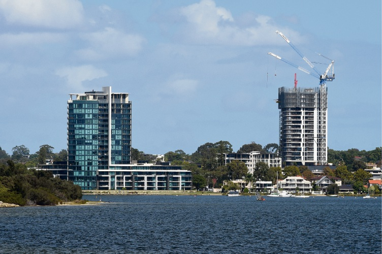 The Canning Bridge Activity Centre skyline is changing, with plans for a number of high-rise developments.