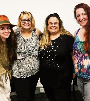 Caroline Mazel-Calton, Patricia Tran, Lowanna Hugall and Sera Davidow.