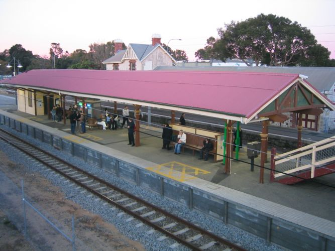 Claremont train station. Picture: Wikipedia