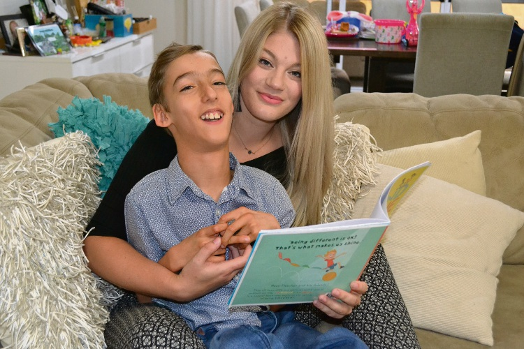 East Victoria Park resident Samantha Warne's friendship with Fletcher Garrett inspired a children's book.