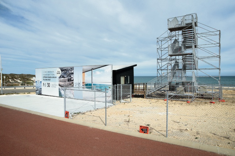 M/30 apartment site in Mindarie. Picture: Martin Kennealey d482245