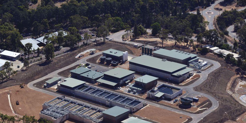 Mundaring Water Treatment Plant.