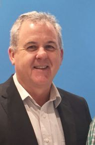 Telstra area general manager Boyd Brown.