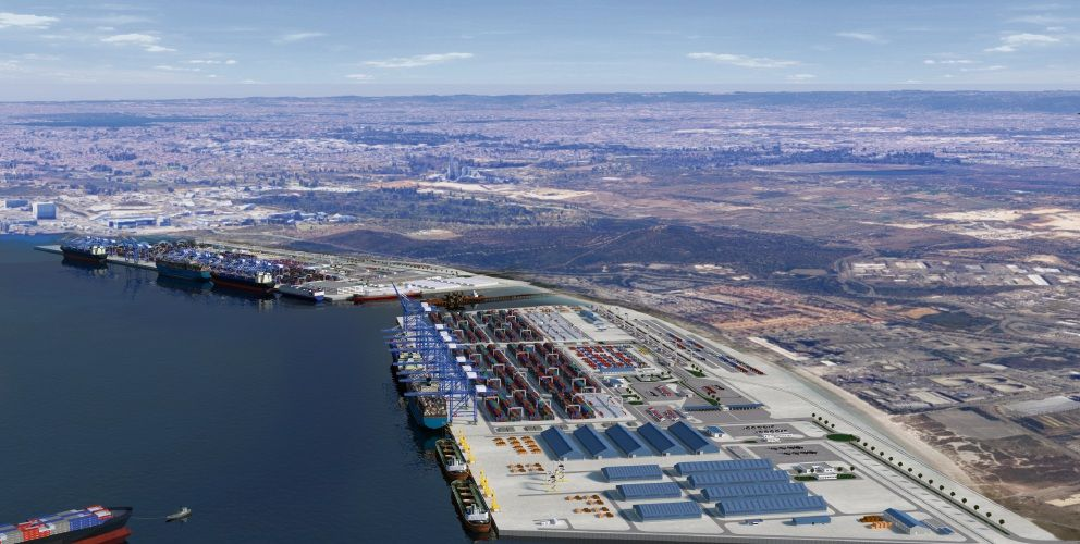 Concept of planned Outer Harbour in Kwinana.