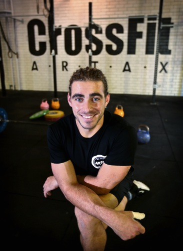 Owner of CrossFit Artax in Midland Hayden LaVanda is getting ready for the CrossFit Regionals in June in Sydney. Picture: David Baylis d481911