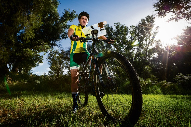 Ricky Thackray has qualified for the World Mountain Bike Orienteering Championships in Austria in August.
