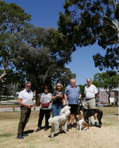South Perth resident Kim Clifton and fellow dog walkers believe they were not considered in the City of South Perth's Ernest Johnson (EJ) Reserve redevelopment plan.