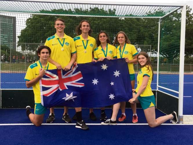 WA players James Collins, Christian Starkie, Tom Harvie,  Jolie Sertorio, Neasa Flynn and Caitlin Cooper performed well at the 2018 Oceania Youth Olympic Games Qualifiers.