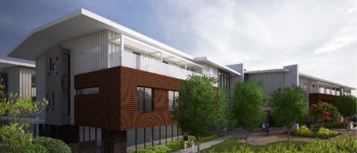 An artist impression of a proposed addition to Opal Aged Care's Applecross facility.