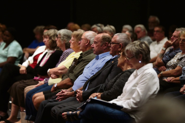 More than 100 people attended a seniors forum in Merriwa.