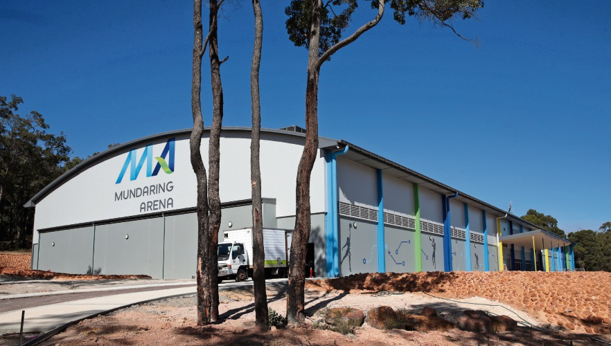 The opening of Mundaring Arena has been delayed by more than four months. Photo: Martin Kennealey
