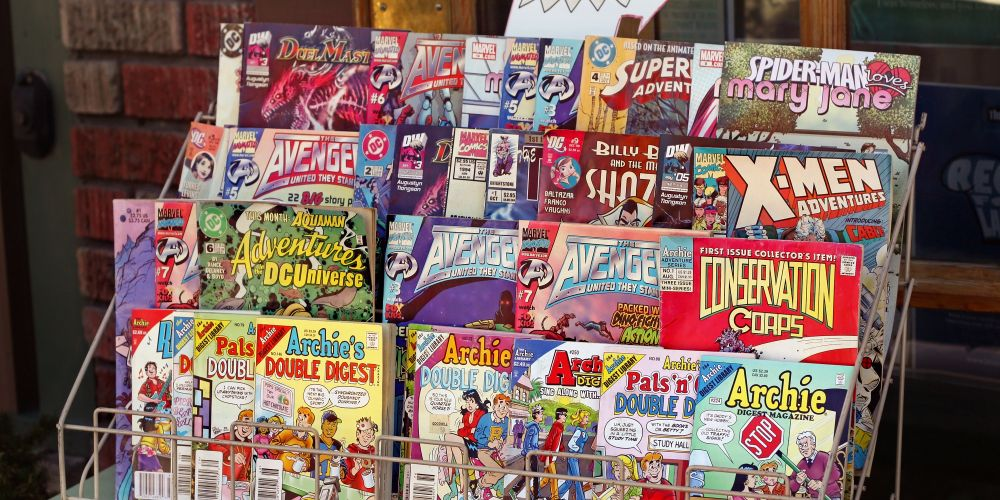 May 5 is Free Comic Book Day. Picture: iStock