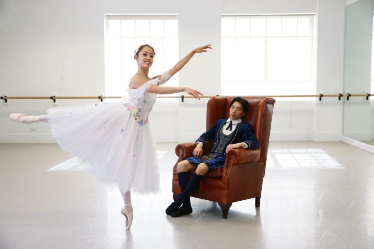 WA Ballet principals Chihiro Nomura and Gakuro Matsui. Picture: Andrew Ritchie d482103