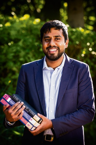 Quiz master Aaran Mohann. Picture: Will Russell d482535