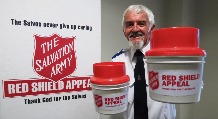 Fred Appleby has been volunteering for the Salvation Army for nearly four decades.