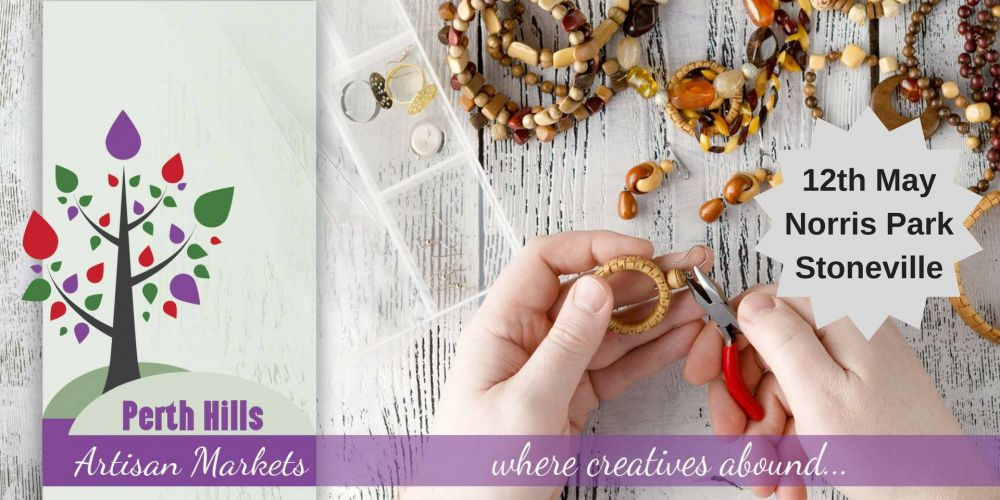 Perth Hills Artisan Markets on this Mother's Day weekend