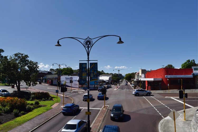 Bayswater town centre. Picture: Kristie Lim