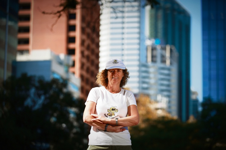 Barbara Marks, of Leederville, is preparing to trek 60km in Melbourne Coastrek to raise funds for The Fred Hollows Foundation. Photo: Andrew Ritchie