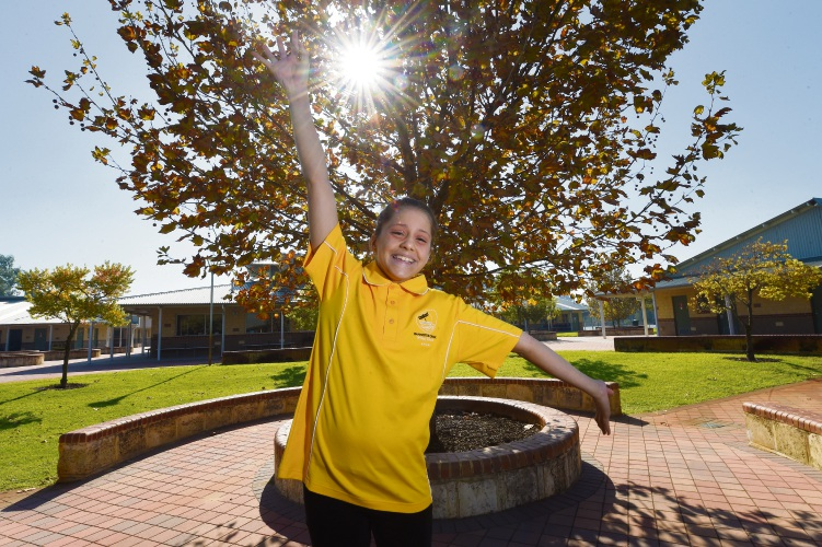 Isabella Sibincich has been named in the WA Swimming team. Photo: Jon Hewson