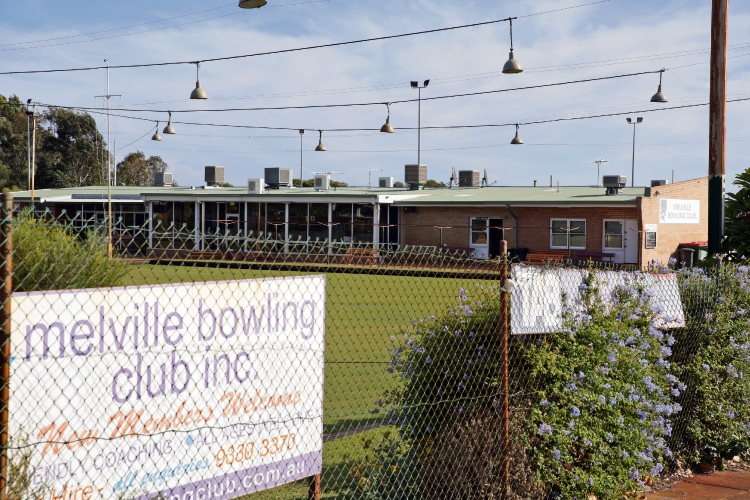 Melville Bowling Club.